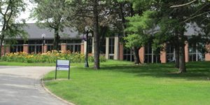 View of Cornell College Thomas Commons
