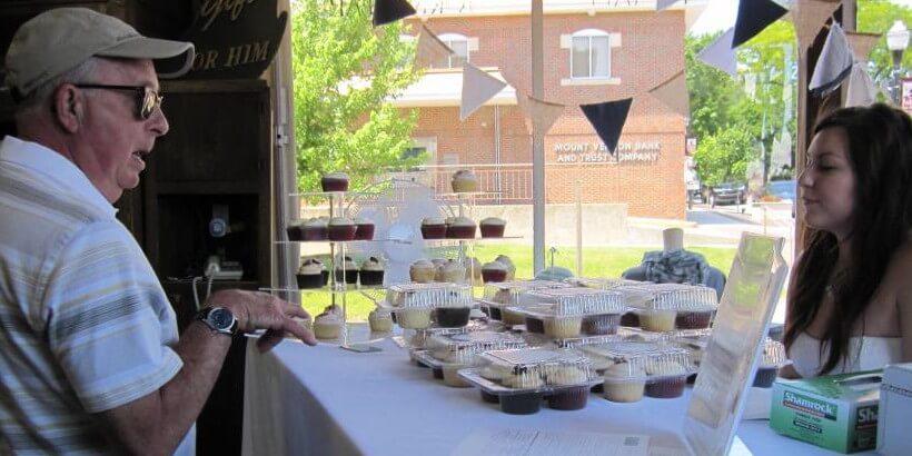 Chocolate Stroll Cupcakes