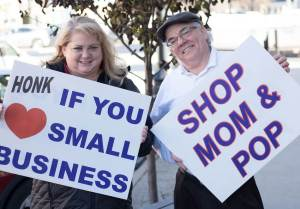Shop Small Saturday Signs