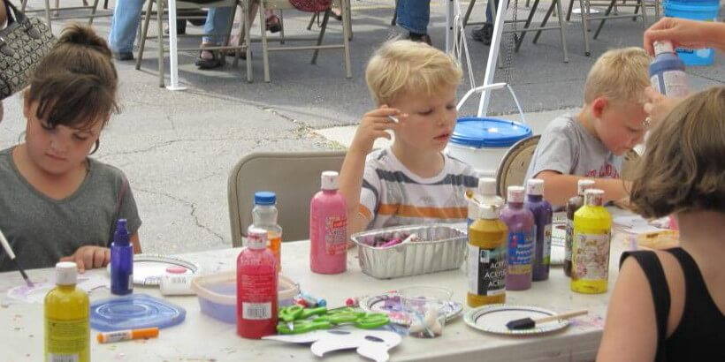 LHAF Kids Art Table