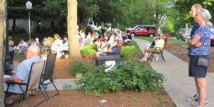 Attendees at Tuneful Tuesday Concert