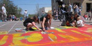 Chalk the Walk Community Piece May 2018