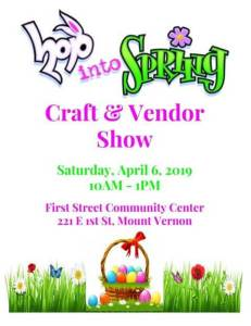 Hop Into Spring Craft and Vendor Show
