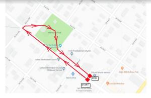 .5K Fun Run Route