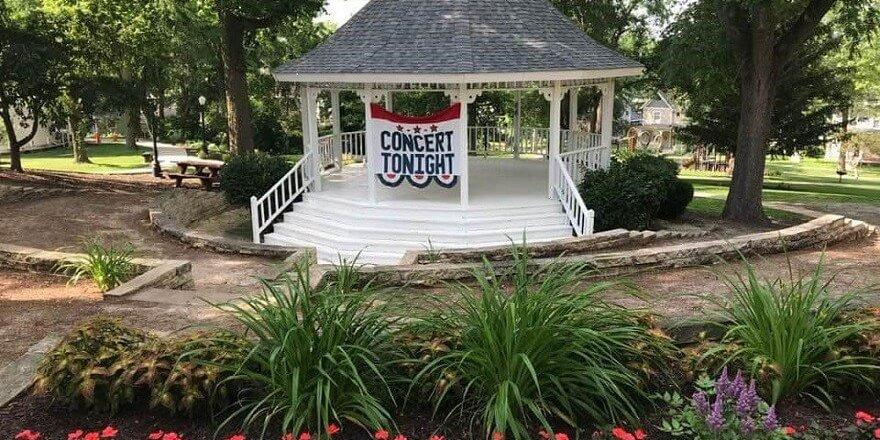 Gazebo Banner Community Concert