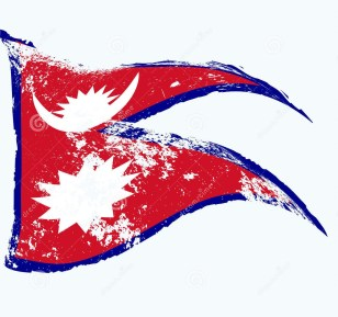 nepal-flag-waving-grunge-53435936