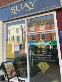 SUAY shop front