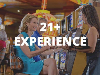 21+ Experience