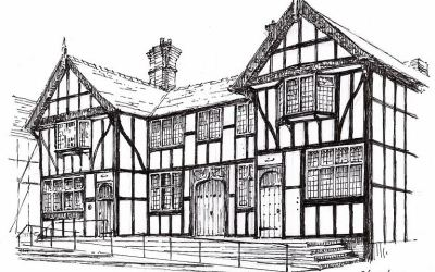 Local artist teams up with business to create a series of Northwich and District postcards