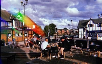 Enjoy drinks al fresco in Northwich this summer