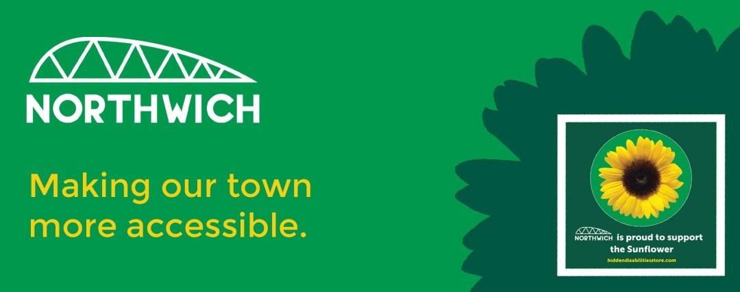 Accessible Northwich Sunflower Scheme