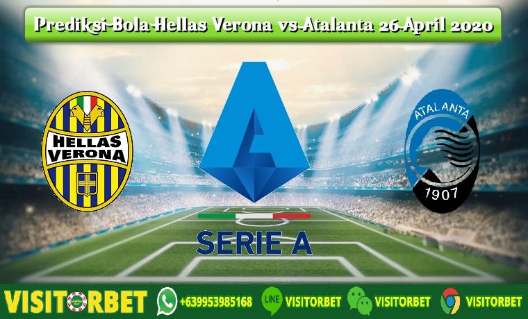 Prediksi Bola Hellas Verona vs Atalanta 26 April 2020