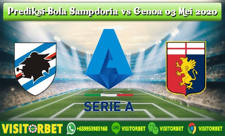 Prediksi Bola Sampdoria vs Genoa 03 Mei 2020