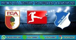Prediksi Bola Augsburg Vs Hoffenheim 14 Agustus 2021