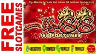 Tips Menang Bermain Slot Games 168 Fortunes Spadegaming
