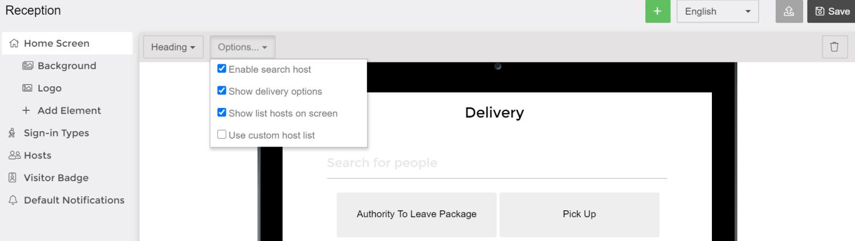 enable kiosk deliveries