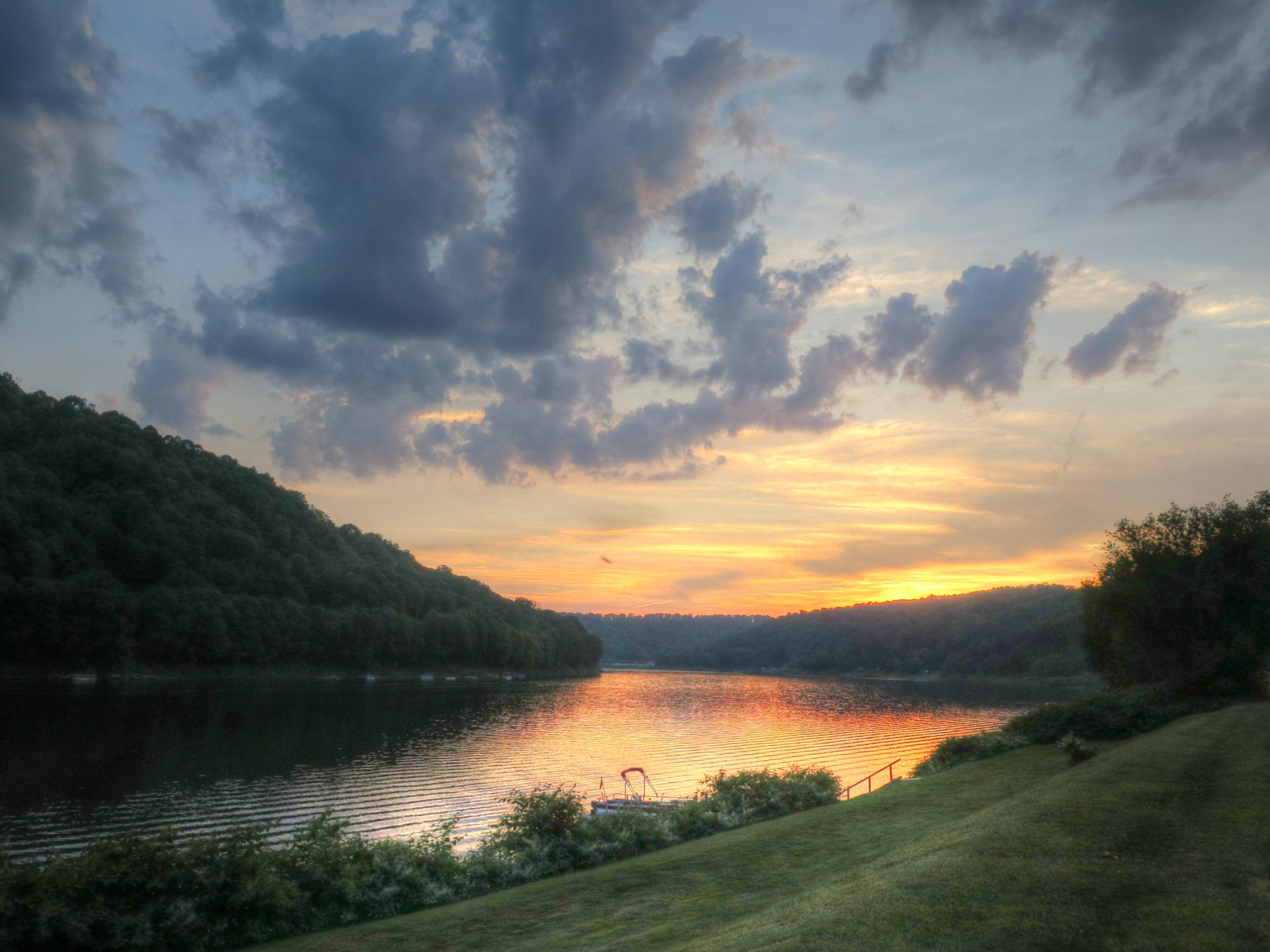 Allegheny River in East Brady | Visit PA Great Outdoors