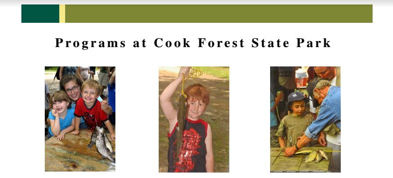 Cook Forest Children's Fishing Rodeo