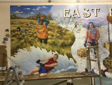East Brady Mural: Playground on the Allegheny | Visit PA Great Outdoors