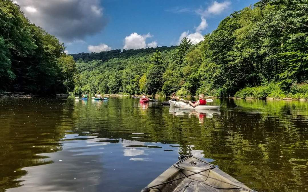 Paddle the Clarion River, Pennsylvania's 2019 River of the Year