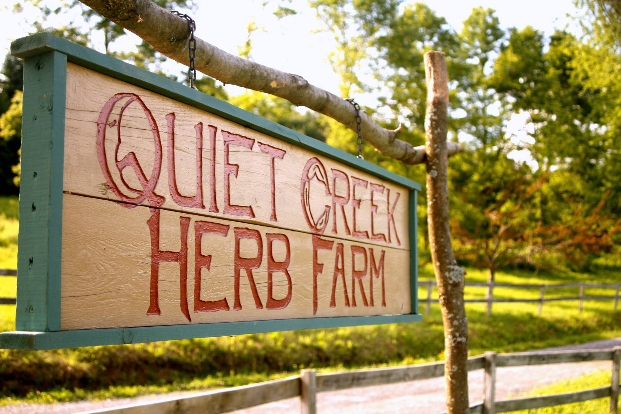 Quiet Creek Herb Farm School Of Country Living Visit Pa Great Outdoors