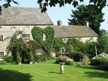 Church Farm Cottage & Ancestral Barn front of house new