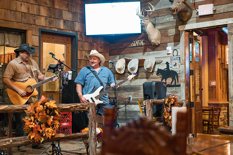 Big Horn BBQ in Pearland has live music weekly