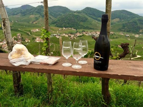 Visit Prosecco Italy Prosecco Vending Machine Osteria Lunch