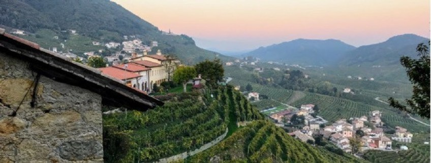 What is prosecco where is the prosecco region Italy view