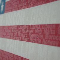 US Flag words
