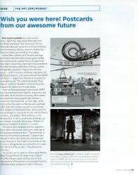 Postcards article