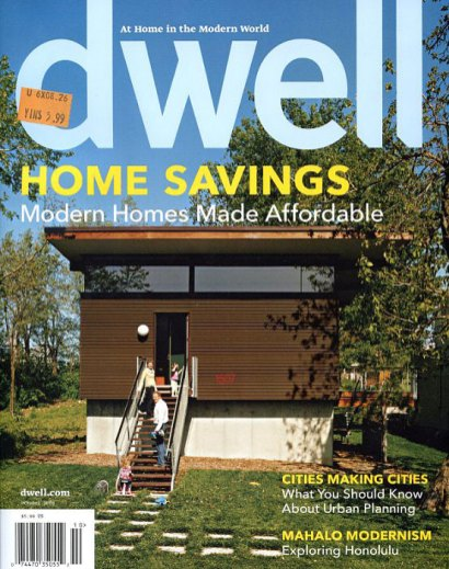 Dwell Magazine October 2008