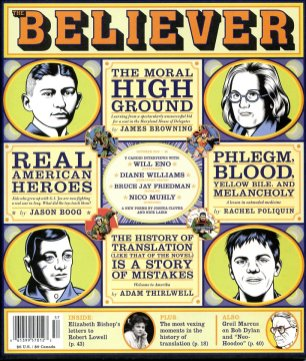 Believer Magazine October 2008