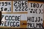 Steve Lambert glyphs