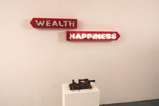 Wealth or Happiness - Steve Lambert