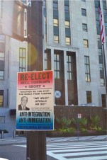 Re-elect Bull Connor at City Hall in Birmingham Alabama