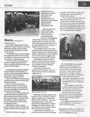 Fifth Estate Spring 2015 page