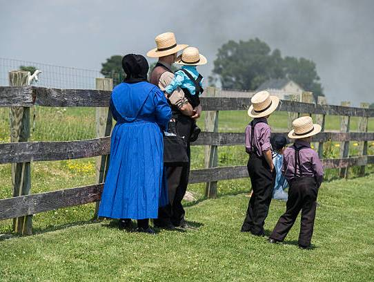 How Do The Amish Raise Their Children?