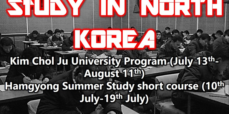 Discover a different world: Visit North Korea's Summer Study Extravaganza
