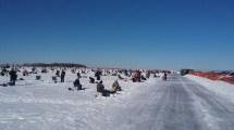 Lake of the Woods Minnesota Ice Fishing