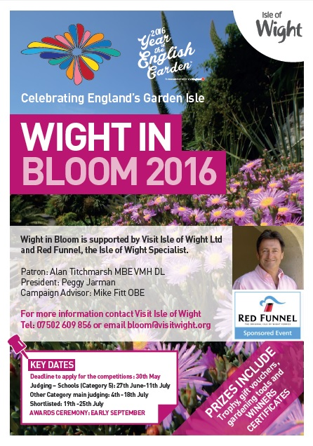 Wight In Bloom application form image