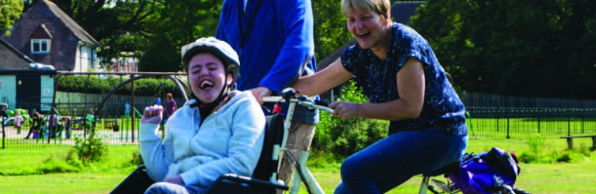 cycling projects wheelchair user bicycle