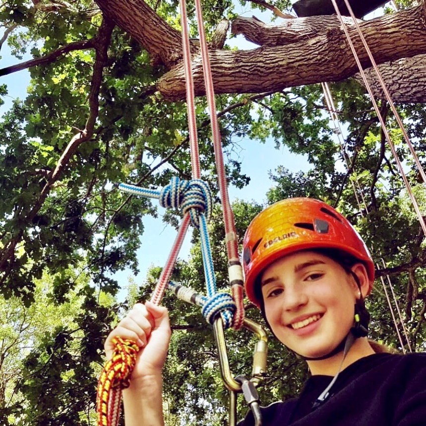 Goodleaf tree climbing - on of the UK's top 100 small businesses