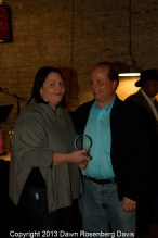 Attraction of the Year - Downtown Marketplace, accepted by Vernette and Jett Griffin