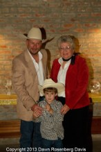 Event of the Year - Yazoo County Fair, accepted by the McGraw family