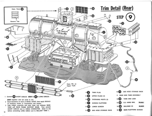 small resolution of sealab iii parts png