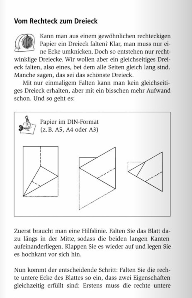 Briefumschlag Falten A4 Blatt