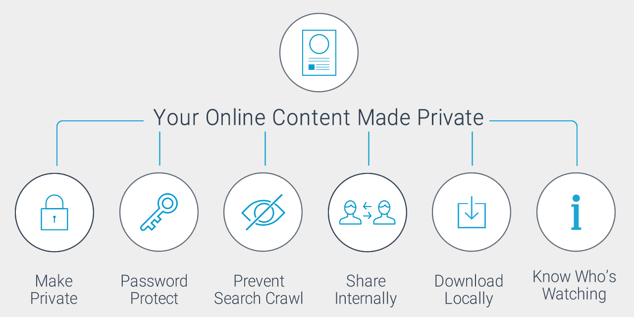 How to Manage Privacy of Online Presentations & Infographics