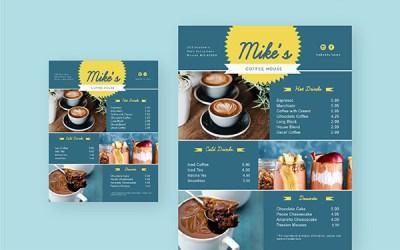 Free Online Menu Maker Design Your Own Menus Visme