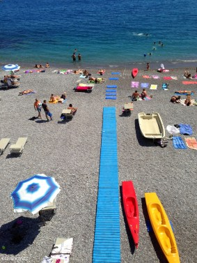 Amalfi sahili